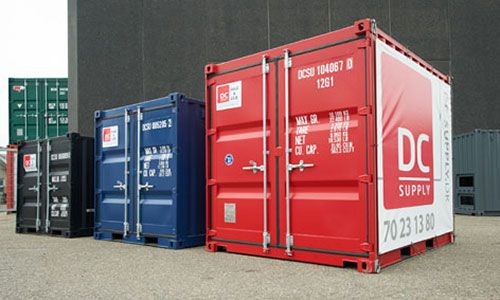 10 fod container - Bestil 10 fod containere hos DC-Supply