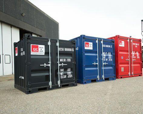 Bestil container på mål og vægt til alle slags opgaver - DC-Supply | DC-Supply A/S