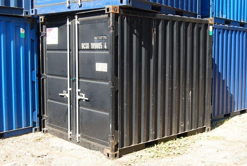 10 fod lager container - OK stand, skæve hjørner
