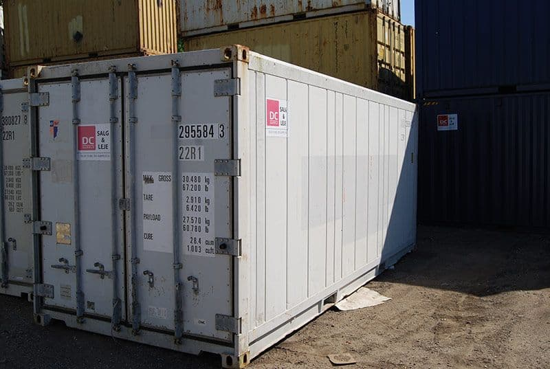 20 fod reefer container - OK stand
