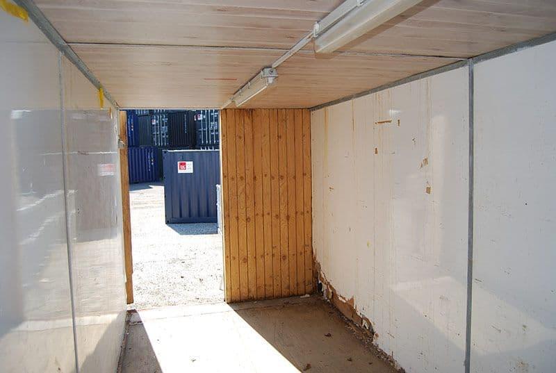 Isoleret container, 20 fod - dårlig stand