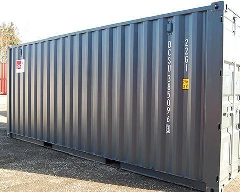 Isoleret lagercontainer DCS 2064 - kun kr. 29.800,-
